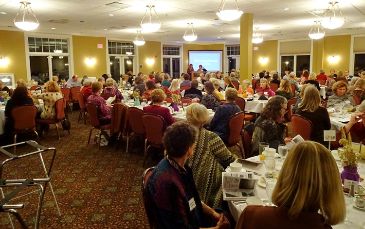 The Duluth Branch held their 7th annual fundraiser for local scholarships and AAUW Funds.