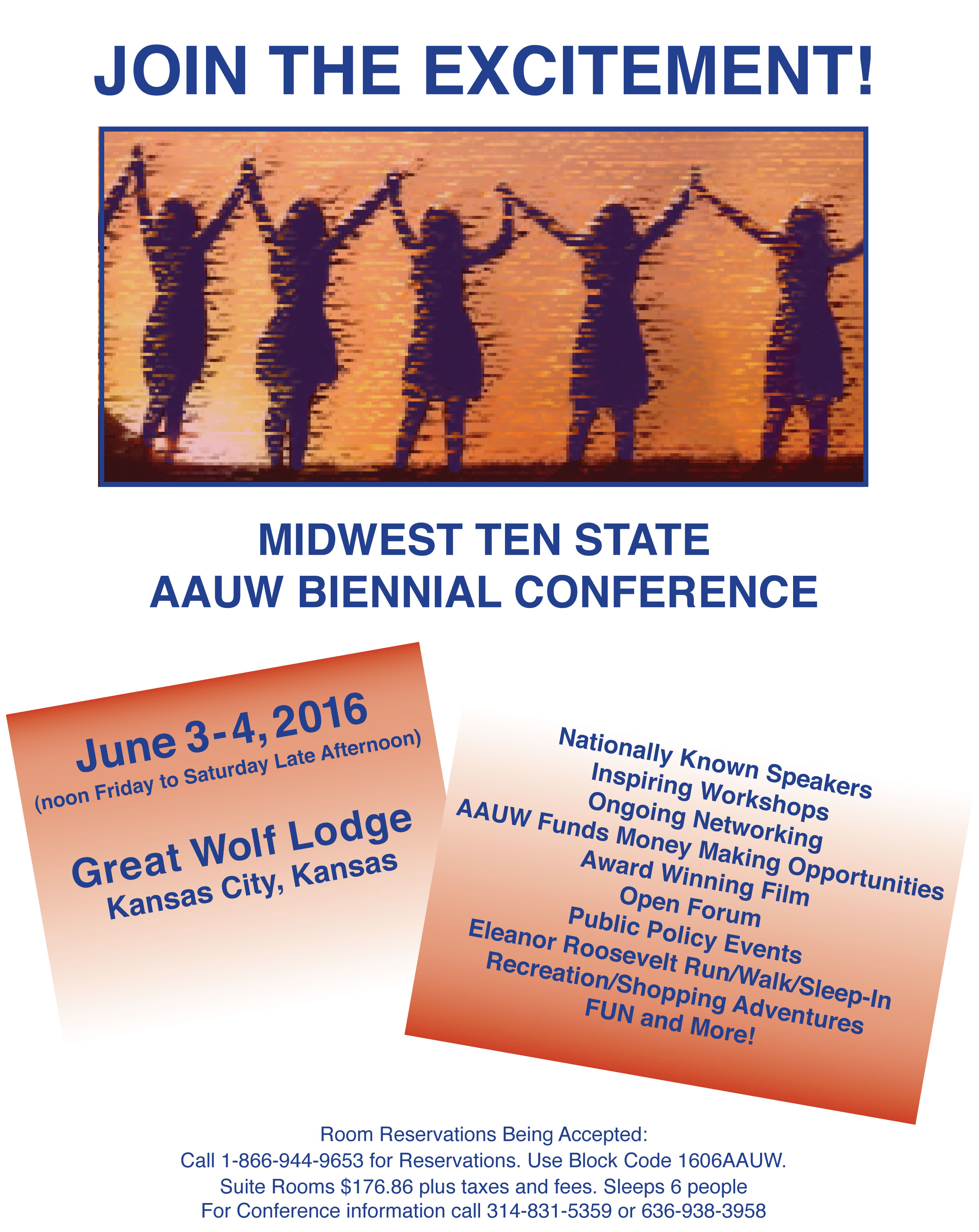 AAUW Midwest Regional Conference Flyer